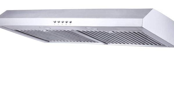 Range Hood 30 Inch Kitchenexus Stainless Steel 300cfm Ducted Ductless Under Cabinet Kitchen Vent Hood With Led Lighting And Hybrid Stainless Steel Filters T 16a In 2020