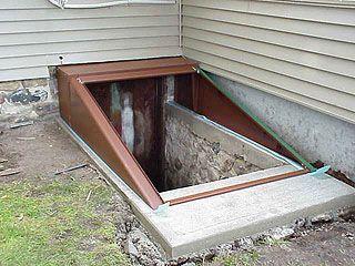 How To Install A New Bilco Door To Replace An Old Basement Entry Bilco Doors Old Basement Basement Doors