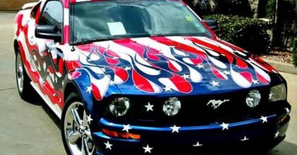 Happy July 4th Mustang Mustang Cars Cars Mustang