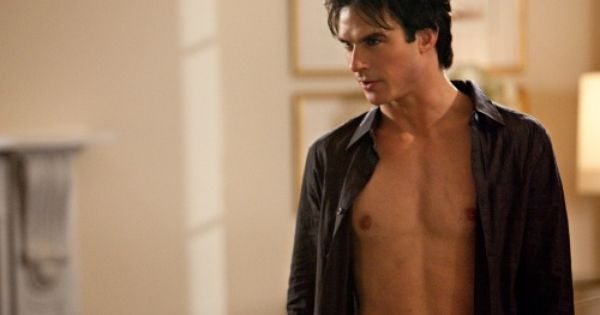 """Isobel"" - Ian Somerhalder as Damon in THE VAMPIRE DIARIES on The"