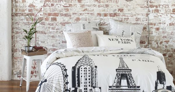 Travel decor. Home decor. Bedroom decor. Duvet Cover.