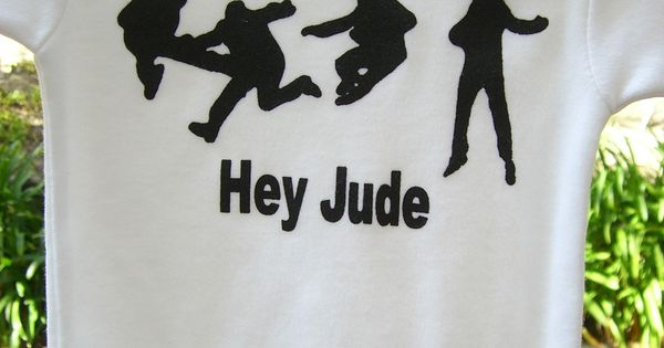 The Beatles Hey Jude Onesie Or Toddler T Shirt Hand