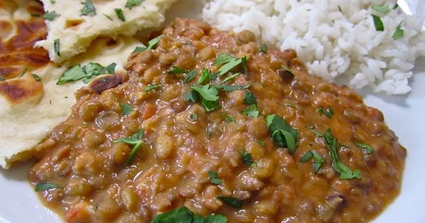 dal nirvana - love Indian dishes with cilantro.