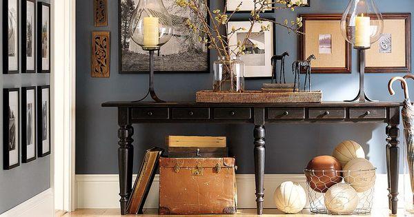 Inspiratie voor het inrichten van een kleine hal hal inrichting inspiratie pinterest muur - Keuken muur kleur idee ...