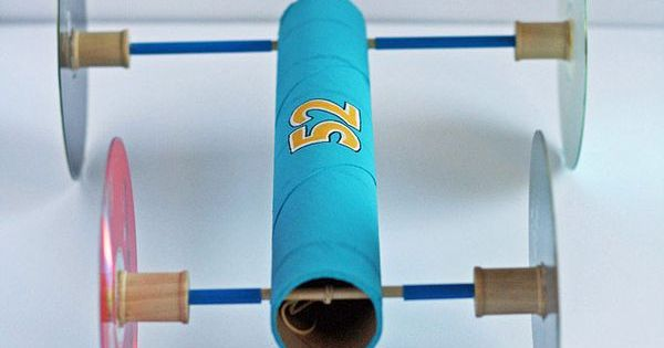 How To Make A Rubber Band Car Recipe Paper Towel Rolls