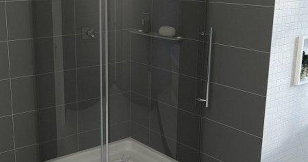 vigo 40 inch x 40 inch frameless round 516 inch shower enclosure rightsided door steel steel doors and showers