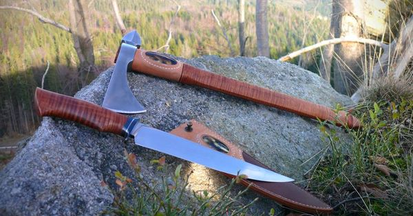 Tomahawk By Pawel Surdel Knife By Pavulon Handmade Knives