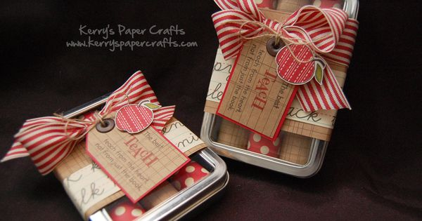 from another pinner: teacher gifts - GREAT blog!!! I get so many