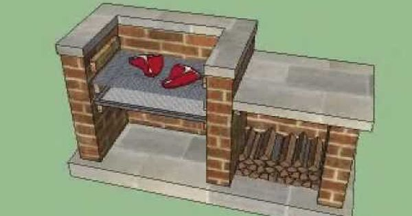 How To Build A Brick Bbq Youtube For The Home