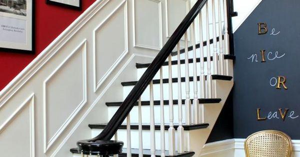 D co entr e maison cage d 39 escalier et couloir en 32 id es for Decoration maison facebook