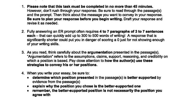 Ged Essay Prompt Writing Youth Violence Essays