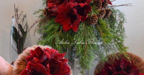 Mariage hivernal qu bec bouquet de mari e bouquet fille for Bouquet de fleurs quebec