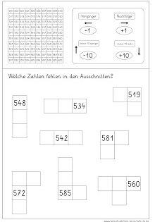Ausschnitte Finden Im Tausenderbuch Tausenderbuch Mathematikunterricht Matheunterricht