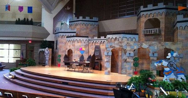 Castle Stage Vbs Ideas Pinterest Church Ideas And Craft