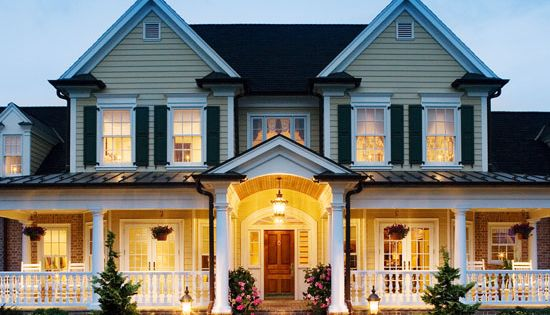 Gorgeous wrap-around porch. i love the wrap around porch :) part of