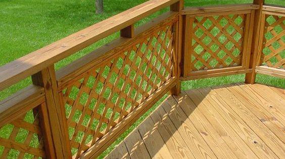 Best Lattice Panel Deck Railing Deck Railing Designs Salter 400 x 300
