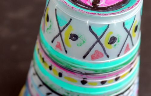 Melted Cups Daytodaydreams Com Kid Things Pinterest Cups