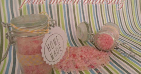 badesalz last minute geschenk diy cosmetics pinterest bath salts. Black Bedroom Furniture Sets. Home Design Ideas