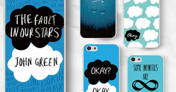The Fault in Our Stars phone case - John Green phone case