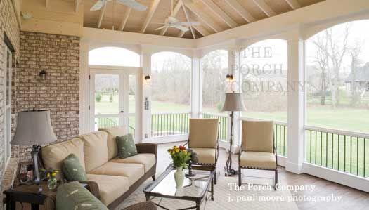 Screen Porch Design Ideas For Your Porch S Exterior Screened Porch Designs House With Porch Porch Design