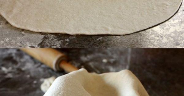 Cafe Rio homemade tortilla 2 cups white flour 1 1/2 tsp baking