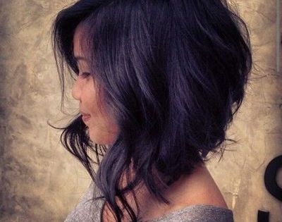 A-line Bob with beachy waves. Also good bob styling ideas here.