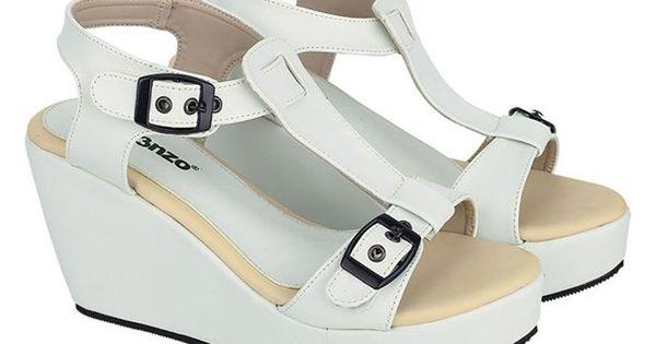 Sepatu Wanita Wedges Jk 531 Sintetik Putih 36 40 Rp 200 000