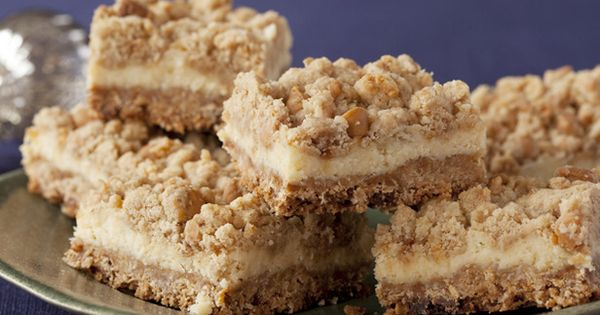 Oatmeal Cream Cheese Butterscotch Bars recipe from Anne Burrell via Food Network