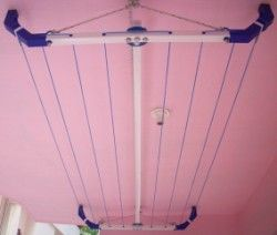 Model Ultra Drying Rack Indoor Clothes Lines Laundry Room