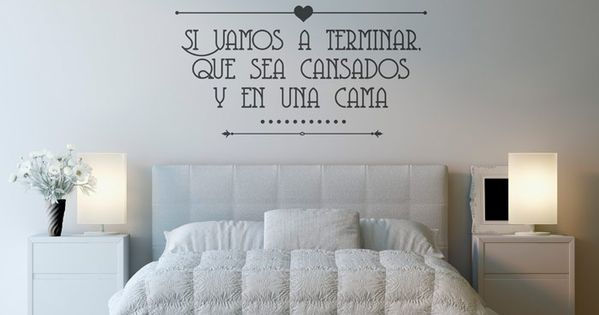 Vinilo decorativo tipogr fico vinilos decorativos for Vinilo frases dormitorio