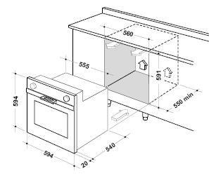 Corner Wall Oven Cabinet Dimensions