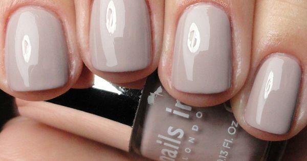 Nails INC Porchester Square; love nude colors!