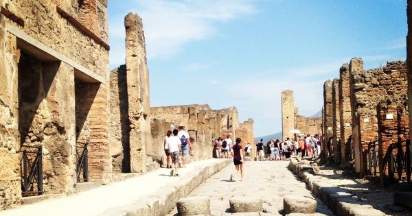 The Historical Ruins of Pompeii Italy Travel