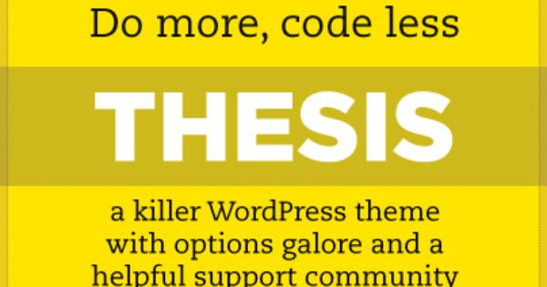wordpress thesis theme reviews