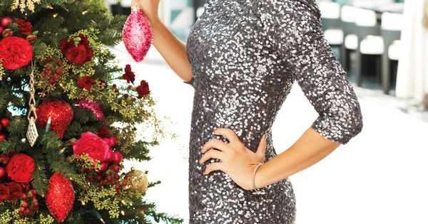 LC Lauren Conrad's New Holiday 2012 Collection // sparkly silver dress This