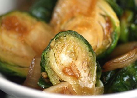 Chinese-Style Brussels Sprouts with Hoisin Glaze | Deliciously Asian ...