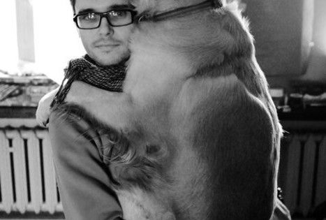 """I love you, Man"" - Big dog"