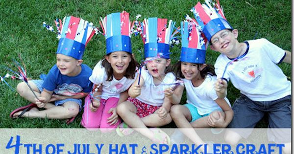 memorial day craft hats