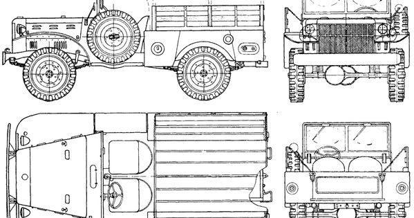 dodge m37 blueprint