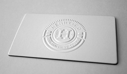 Embossed business card | Photography Inspirations ...