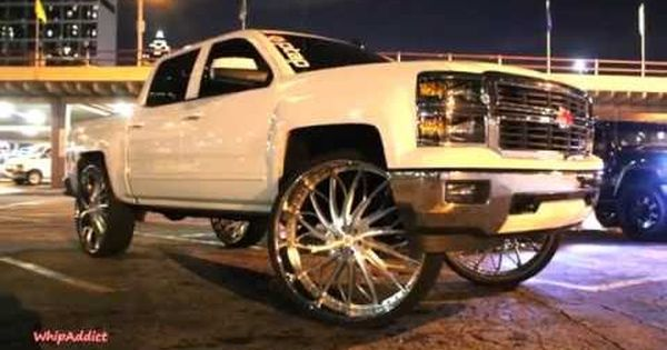 Whipaddict Chevrolet Silverado Z71 On Rucci 34s Challenger Rt On