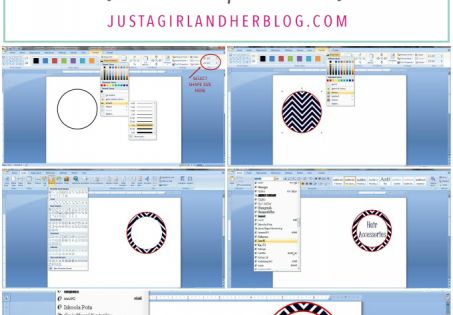 how to make pretty address labels in word