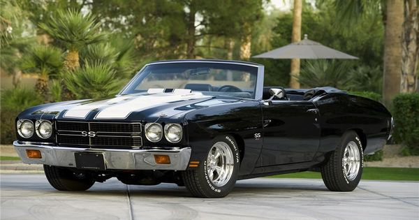 American Muscle Cars 1970 Custom Chevrolet Chevelle LS5