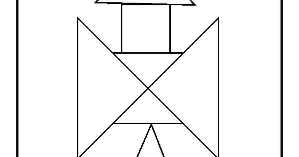 rocket tangram printable  preschool  space  pinterest