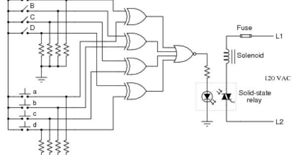 Pics For Electronic Door Lock Circuit Diagram Circuit Diagram Electronic Door Locks Diagram