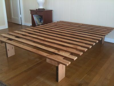 Forward Thinking Furniture Very Very Simple Bed Frame Simple