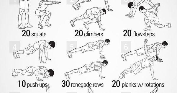 avenger workout    works  quads  frontal hip flexors