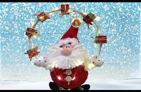 Senor Oh Oh Oh Di Craftonline Tutorial By Craftonline Youtube Artigianato Natalizio Decorazioni Di Natale Decorazioni Natalizie