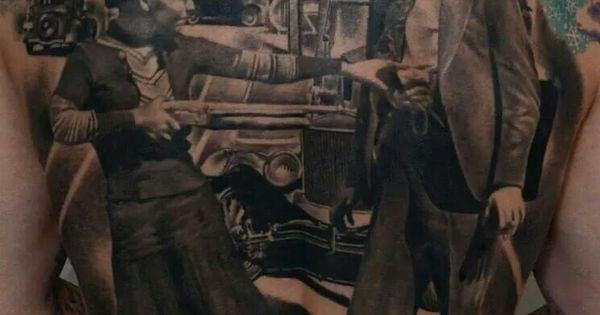 Bonnie And Clyde Tattoo: Bonnie & Clyde