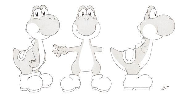 Yoshi Character Design : Reference sheet yoshi yi by cinnamel characters